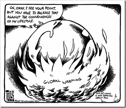 Convenience vs Extinction