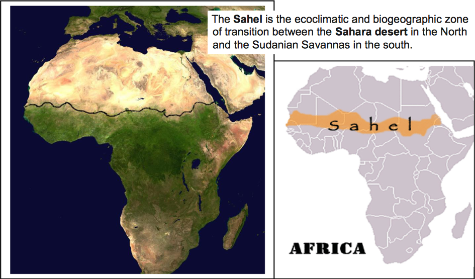 The Sahara and Sahel in Africa | Collapse of Industrial Civilization