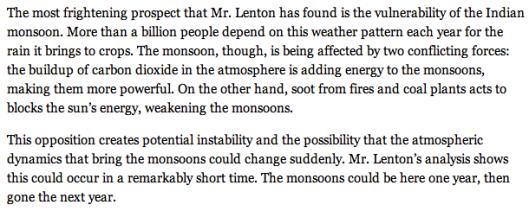 Essay on monsoon season