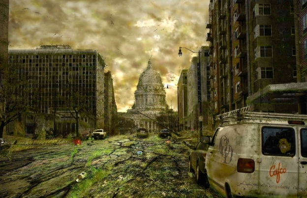 Image result for post apocalyptic usa