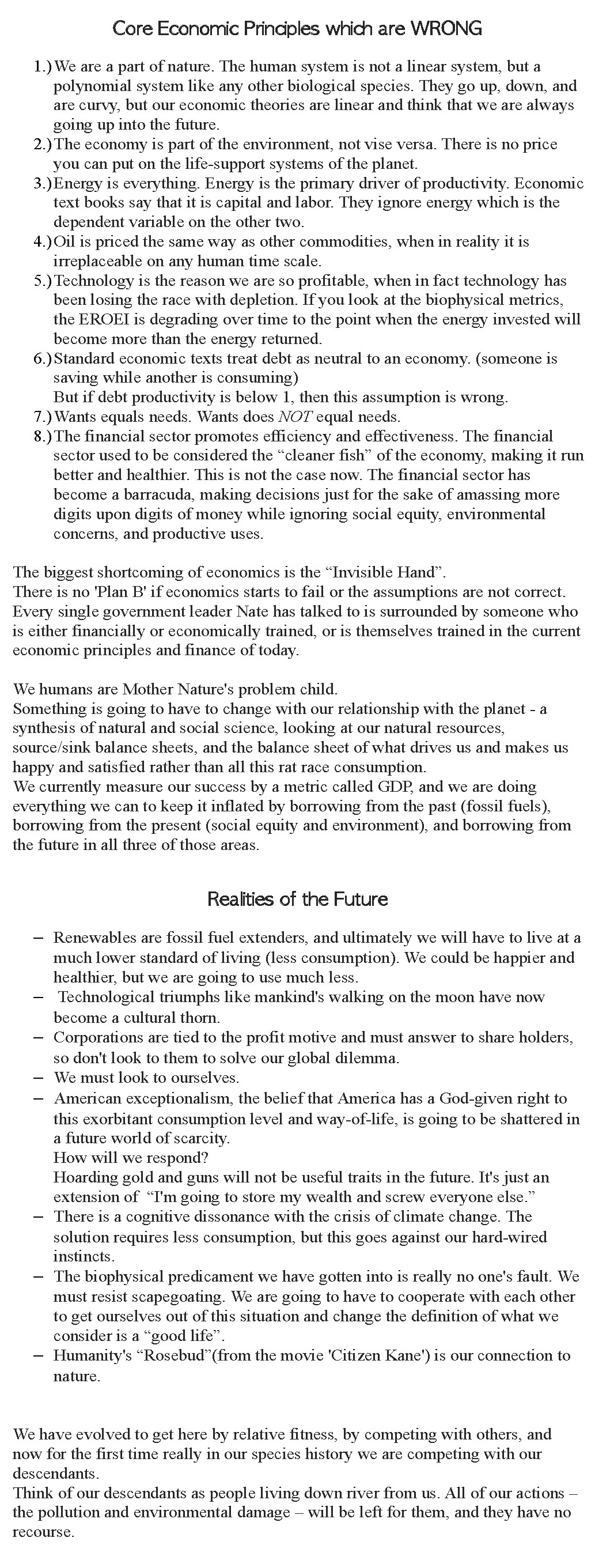 Nate Hagens: What if the Future is Real?   Collapse of Industrial ...