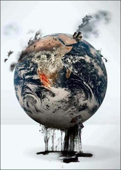 Spent planet
