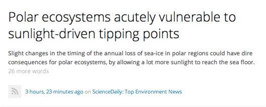Arctic Ecosystems