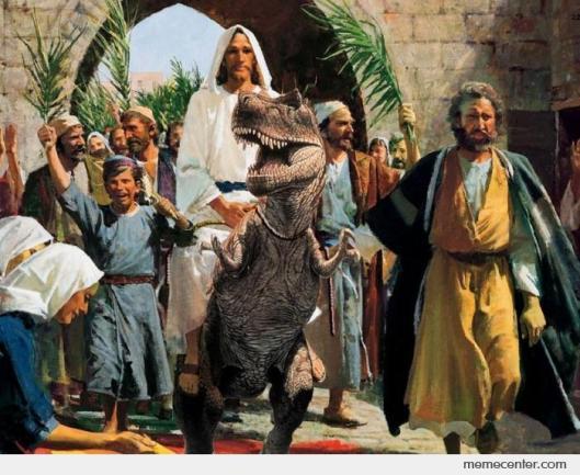 Jesus-rides-T-Rex_o_28663