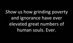 Poverty-uplift