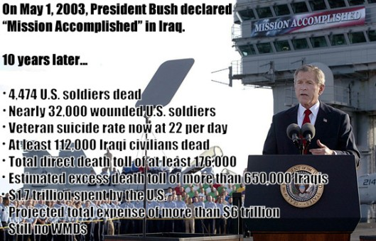 US President George W. Bush addresses th
